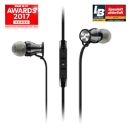 Sennheiser - Momentum In-Ear G Black/Chrome - Samsung Galaxy (HEADSET)