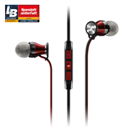 Sennheiser - Momentum In-Ear G Black/Red - Samsung Galaxy  (HEADSET)