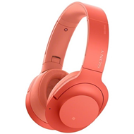 Sony H.ear On 2 Wireless Noise Cancelling Headphones - Red (HEADSET)