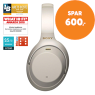 Sony WH-1000XM3 Wireless Noise Cancelling Headphones - Silver (HEADSET)