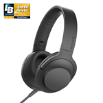 Sony h.ear on MDR-100AAP - Charcoal Black (HEADSET)