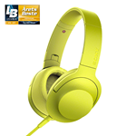 Sony h.ear on MDR-100AAP - Lime Yellow (HEADSET)