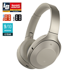 Sony MDR-1000X Wireless Noise Cancelling Headphones – Cream (HEADSET)