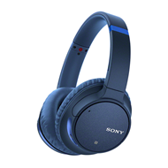 Sony WH-CH700N Wireless Noise Cancelling Headphones - Blue (HEADSET)