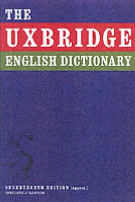 Uxbridge English Dictionary (BOK)