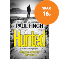 Produktbilde for Hunted (BOK)