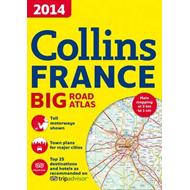 2014 Collins France Big Road Atlas (BOK)