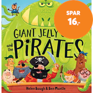 Produktbilde for Giant Jelly Jaws and The Pirates (BOK)