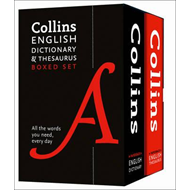 Produktbilde for Collins English Dictionary and Thesaurus Boxed Set (BOK)