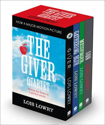 Giver Boxed Set: The Giver, Gathering Blue, Messenger, Son (BOK)