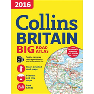 2016 Collins Big Road Atlas Britain (BOK)