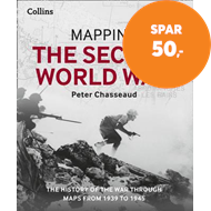 Produktbilde for Mapping the Second World War - The History of the War Through Maps from 1939 to 1945 (BOK)