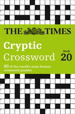 Times Cryptic Crossword Book 20 (BOK)