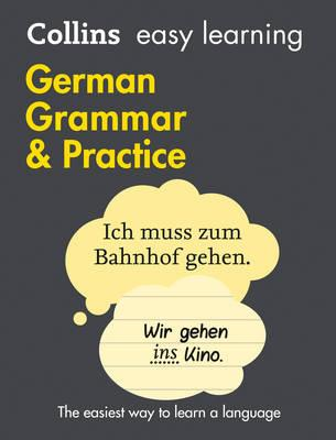 Easy Learning German Grammar and Practice (BOK)