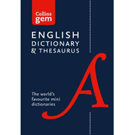 Collins English Gem Dictionary and Thesaurus (BOK)