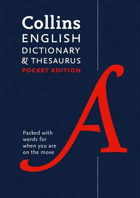Collins English Dictionary and Thesaurus Pocket edition (BOK)