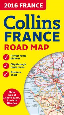 2016 Collins Map of France (BOK)