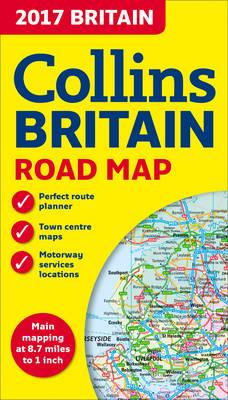 2017 Collins Map of Britain (BOK)
