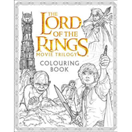 Lord of the Rings Movie Trilogy Colouring Book (BOK)