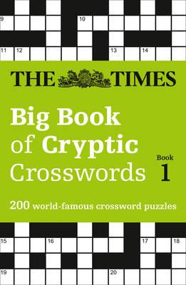 Times Big Book of Cryptic Crosswords Book 1 (BOK)