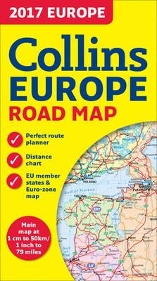 2017 Collins Map of Europe (BOK)