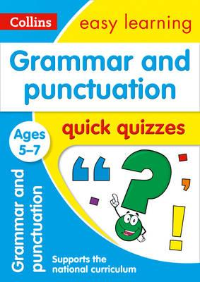 Grammar & Punctuation Quick Quizzes Ages 5-7 (BOK)