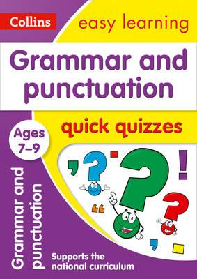 Grammar & Punctuation Quick Quizzes Ages 7-9 (BOK)