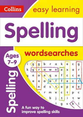 Spelling Word Searches Ages 7-9 (BOK)