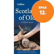 Produktbilde for Scotland of Old - Clans Map of Scotland (BOK)
