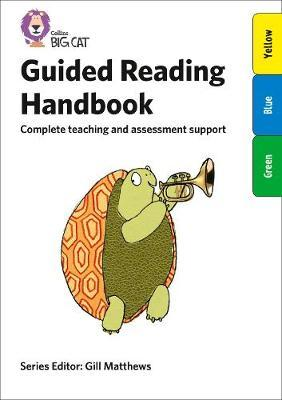 Guided Reading Handbook Blue to Turquoise (BOK)
