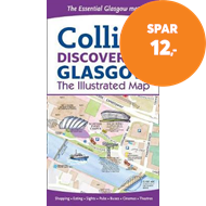 Produktbilde for Discovering Glasgow Illustrated Map (BOK)