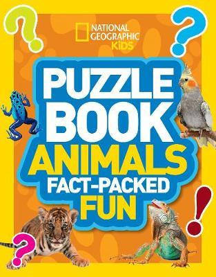 Puzzle Book Animals (BOK)