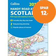 Produktbilde for Collins Handy Road Atlas Scotland (BOK)