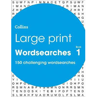 Large Print Wordsearches book 1 (BOK)