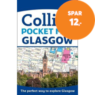 Produktbilde for Glasgow Pocket Map - The Perfect Way to Explore Glasgow (BOK)