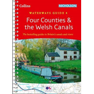Produktbilde for Four Counties and the Welsh Canals - Waterways Guide 4 (BOK)