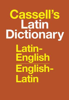 Cassell's Standard Latin Dictionary - Latin/English - Englis (BOK)