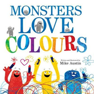 Monsters Love Colours (BOK)