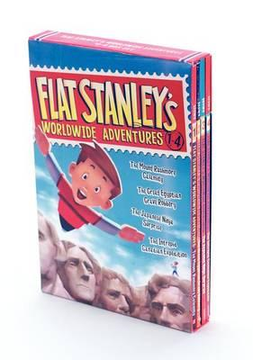 Flat Stanley's Worldwide Adventures #1-4 (BOK)
