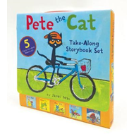 Pete the Cat Take-Along Storybook Set (BOK)