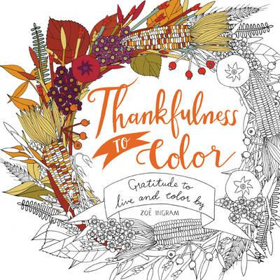 Thankfulness to Color (BOK)