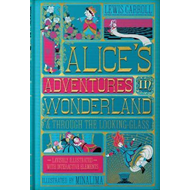 Produktbilde for Alice's Adventures in Wonderland (Illustrated with Interacti (BOK)