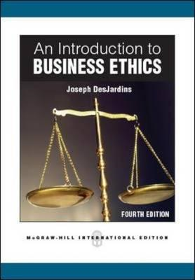 An Introduction to Business Ethics (BOK)