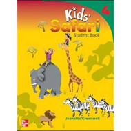 Kids' Safari Student Book 4 (BOK)