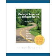 College Algebra with Trigonometry (BOK)
