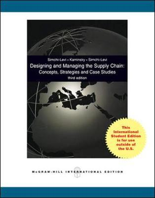 Designing and Managing the Supply Chain with Student CD (BOK)