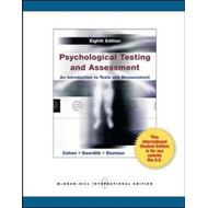 Psychological Testing and Assessment (BOK)