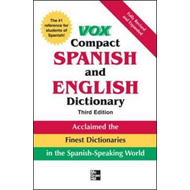 Vox Compact Spanish and English Dictionary (BOK)