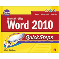 Microsoft Office Word 2010 QuickSteps (BOK)