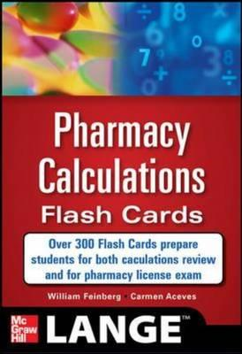 Pharmacy Calculations Flash Cards (BOK)